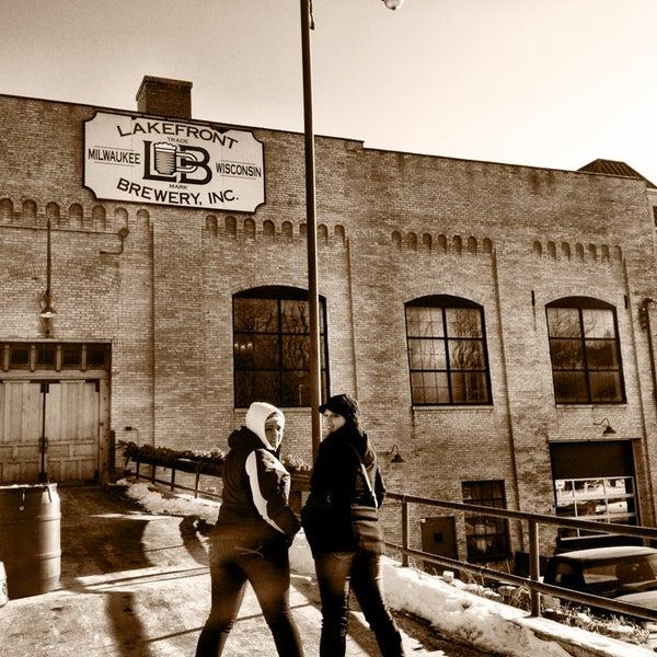Photo prise au Lakefront Brewery par Eliot G. le1/3/2013