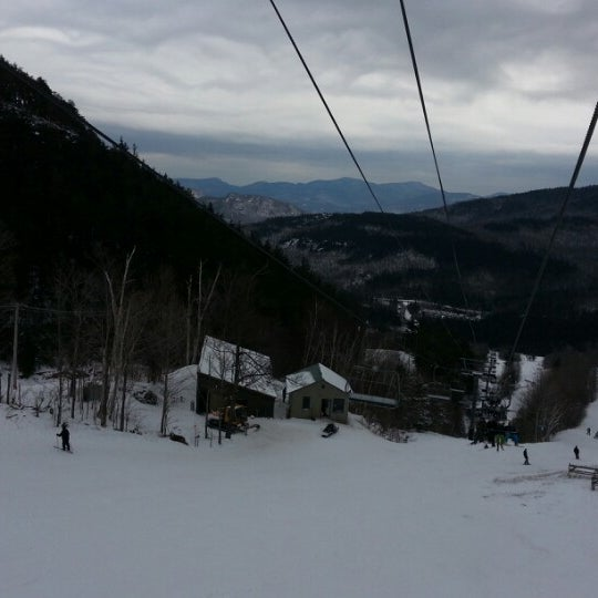 Photo taken at Whiteface Mountain by Anthony S. on 1/20/2013