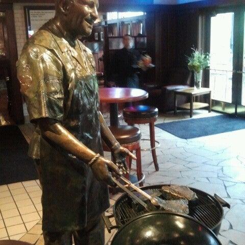 Photo taken at Weber Grill Restaurant by Melita on 5/17/2013