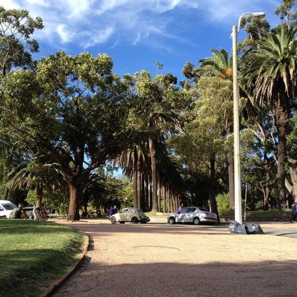 Photo taken at Parque José Enrique Rodó by Ksenia L. on 4/7/2013