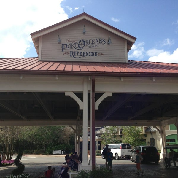 Photo taken at Disney's Port Orleans Riverside Resort by Justin M. on 4/5/2013