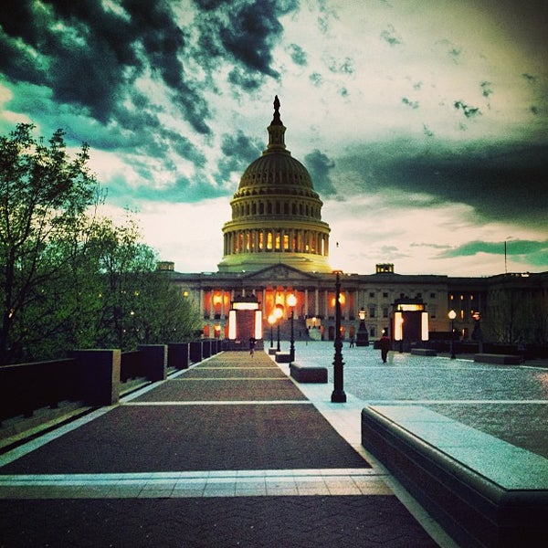 Photo taken at United States Capitol by Alex P. on 4/11/2013