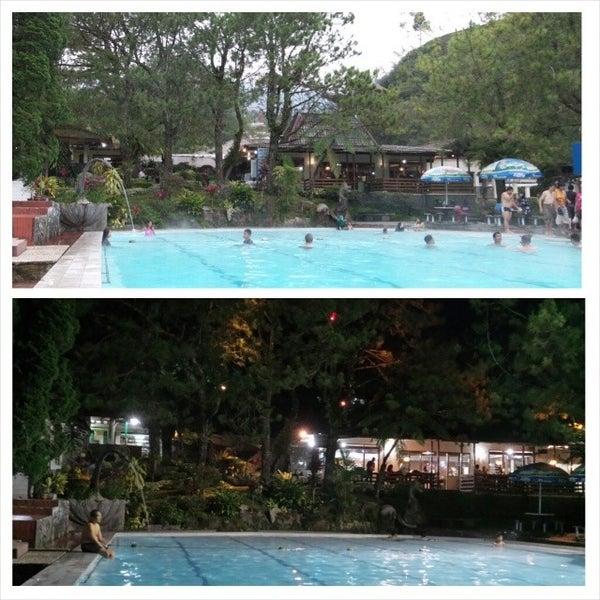 Photo taken at Pemandian Air Panas - Hotel Duta Wisata Guci by Tiez W. on 1/14/2014