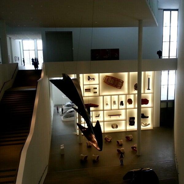 Photo taken at Pinakothek der Moderne by Kim h. on 2/20/2013