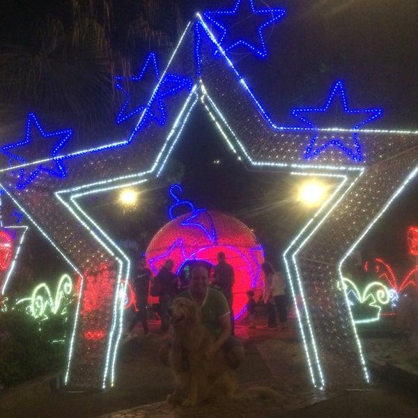 Photo taken at Parque Las Palmas by César V. on 12/3/2016