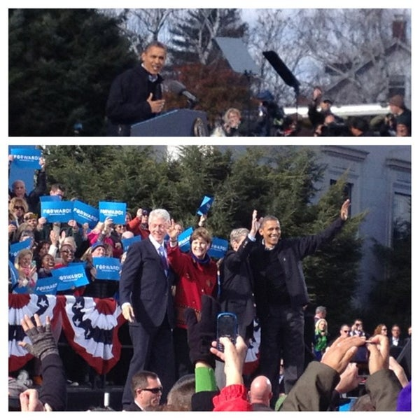 Photo taken at New Hampshire State House by Alicia J. on 11/4/2012