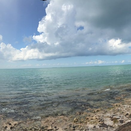 Photo taken at Pigeon Key by Alexis H. on 10/13/2015