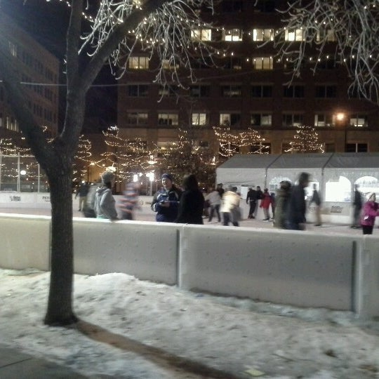Photo taken at Landmark Plaza by Dale B. on 1/19/2013