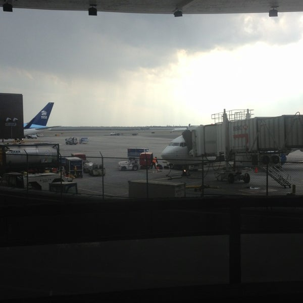 Photo taken at Terminal 3 by Mark G. on 4/1/2013