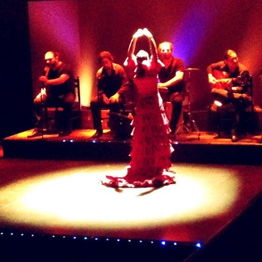 Photo taken at Palacio del Flamenco by Burcak G. on 10/28/2012