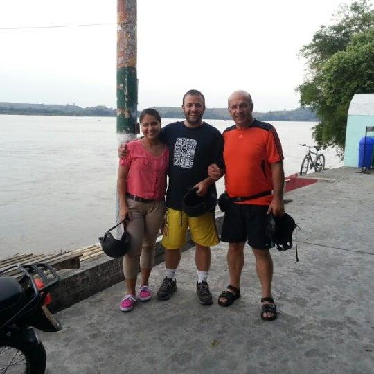 Photo taken at Puerto Boyaca by Federico A. on 2/9/2013