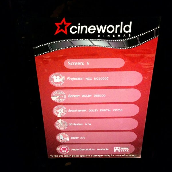 Photo taken at Cineworld by Harold D. on 12/31/2013