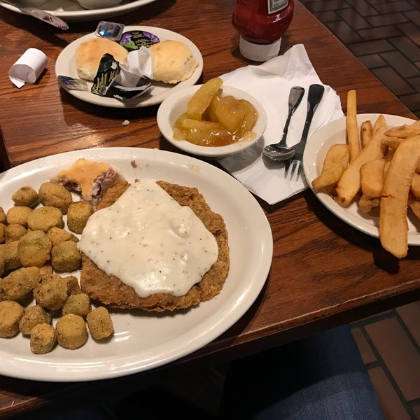 Photo taken at Cracker Barrel by Christian A. on 2/4/2017