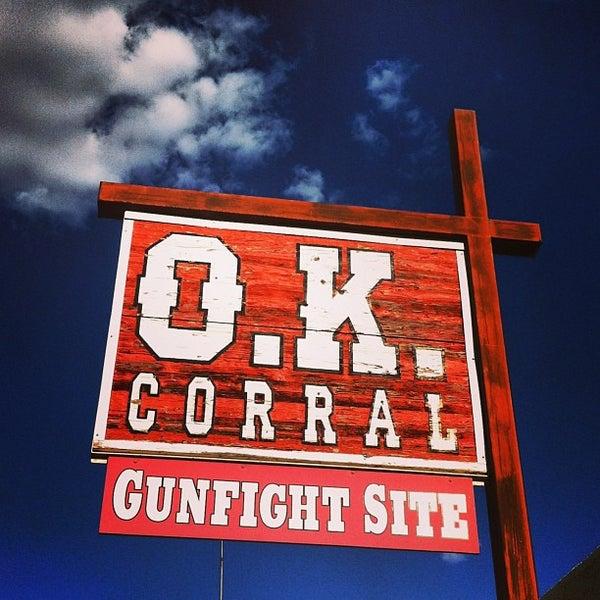 Photo taken at O.K. Corral by Meg on 5/16/2013