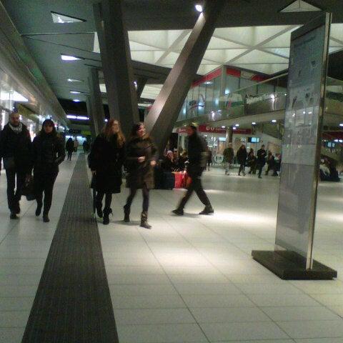 Photo taken at Napoli Centrale Railway Station (INP) by Vittorio C. on 12/8/2012