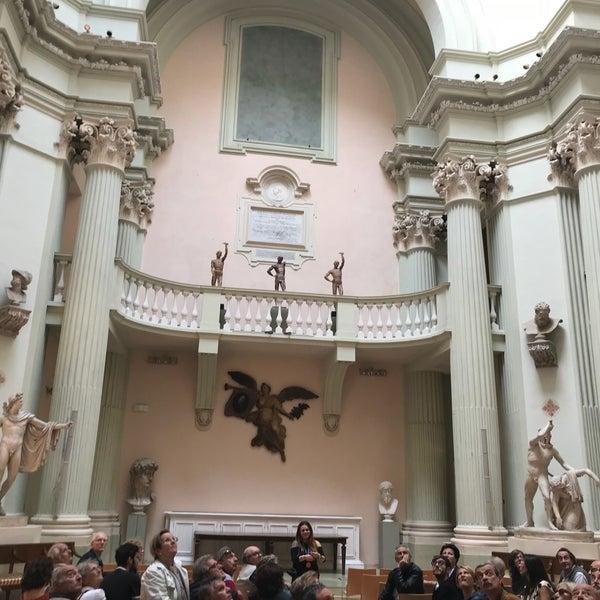 Photo taken at Accademia delle Belle Arti by Vittorio C. on 10/15/2017