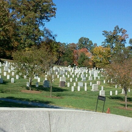 Photo taken at Arlington National Cemetery by Salwa k. on 10/22/2012