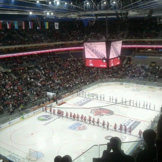Photo taken at O2 arena by Honza K. on 10/9/2012