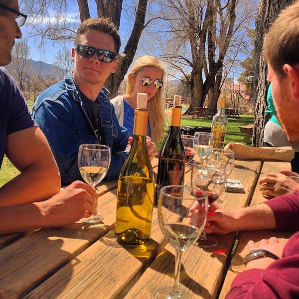 Photo taken at The Winery at Holy Cross Abbey by Matt M. on 4/4/2015