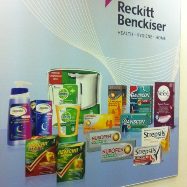reckitt benckiser supply chain in practice