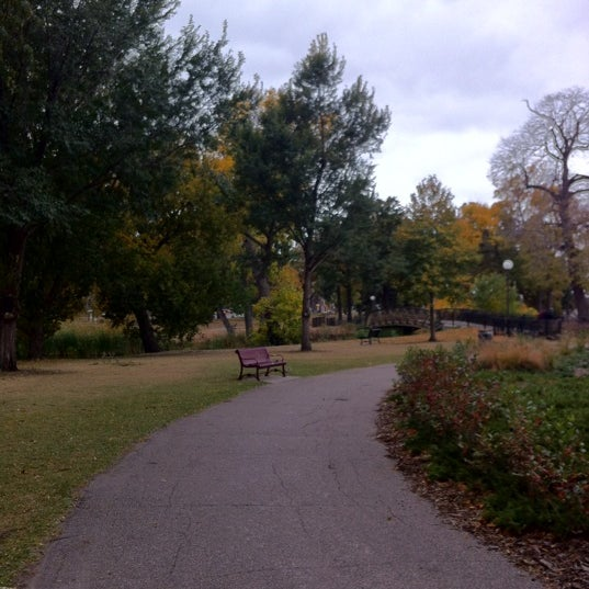 Photo taken at Loring Park by Carrie J. on 10/6/2012