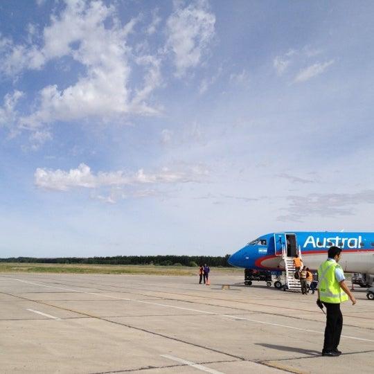 Foto tomada en Aeropuerto Internacional del Neuquén - Presidente Juan D. Perón (NQN) por Lucas G. el 11/21/2012