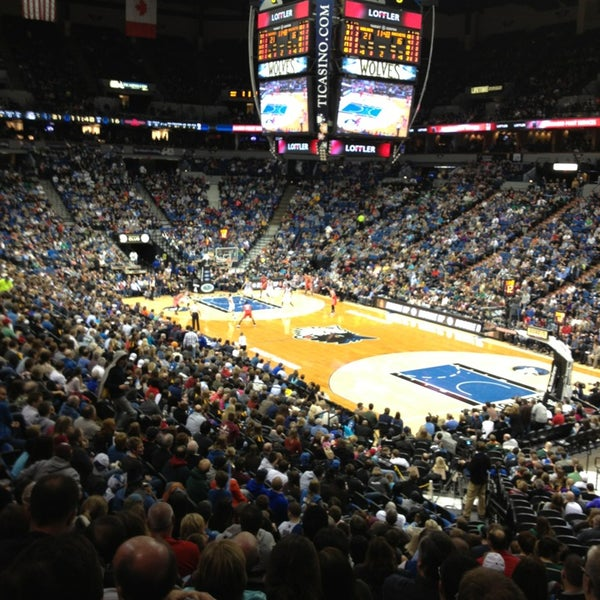Photo taken at Target Center by Mary from the Prairie on 1/20/2013