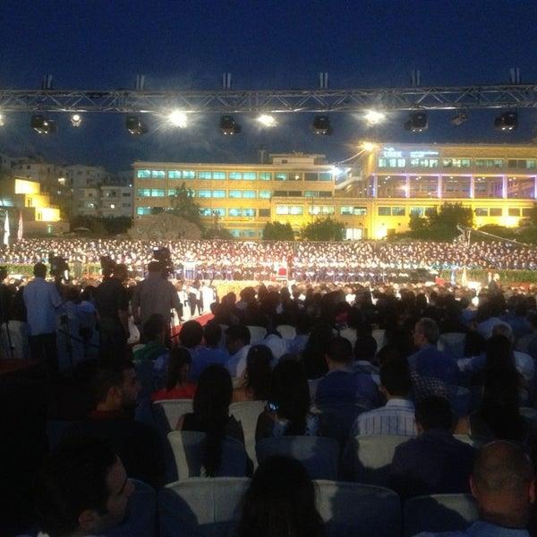 Photo taken at Holy Spirit University Of Kaslik by Majed S. on 7/26/2013