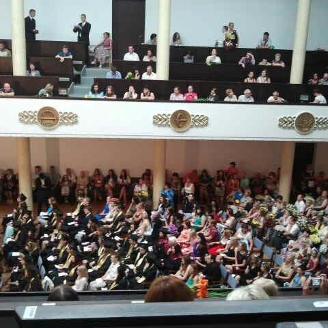 Photo taken at University of Latvia by Alīna E. on 6/25/2013