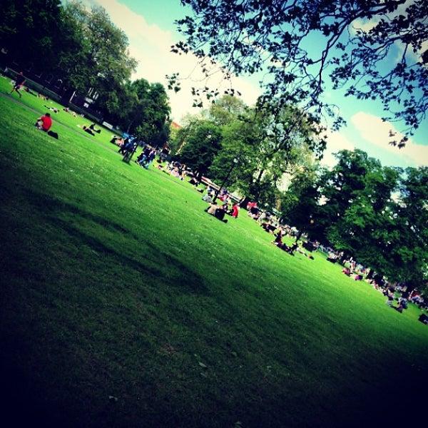 Photo taken at Clapham Common by Simon S. on 6/2/2013