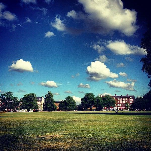 Photo taken at Clapham Common by Simon S. on 7/28/2013