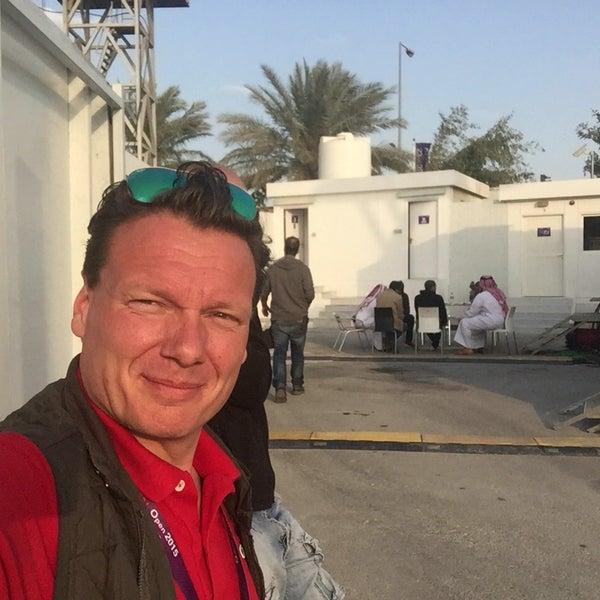 Photo taken at Qatar Tennis Federation by Ulrik S. on 2/24/2015