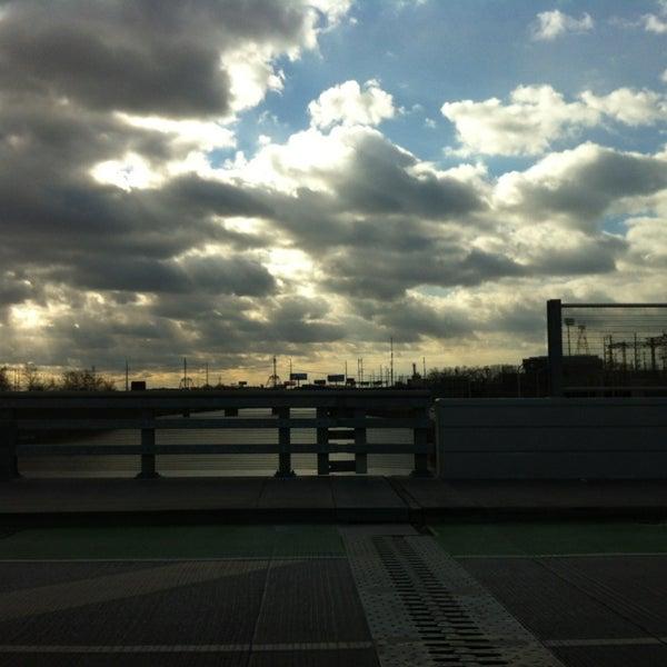 Photo taken at South Street Bridge by Johanna B. on 12/30/2012