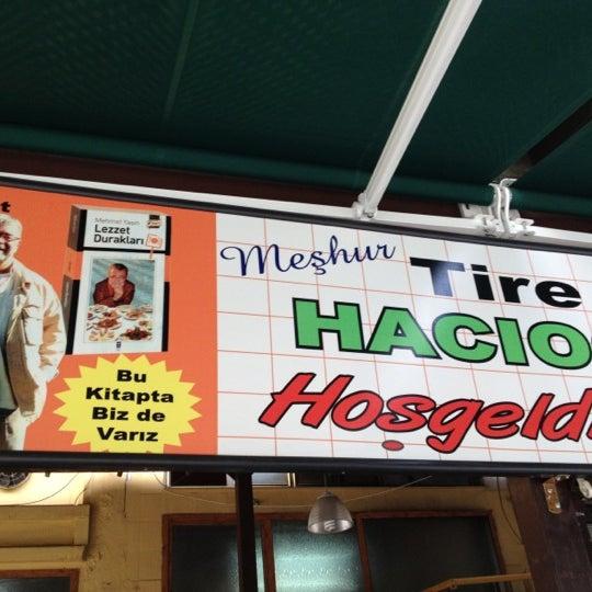 9/19/2012 tarihinde Nedime ç.ziyaretçi tarafından Hacıoğlu Mangal Tire Köfte'de çekilen fotoğraf
