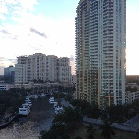 Photo taken at Riverside Hotel by Vanessa P. on 11/17/2012