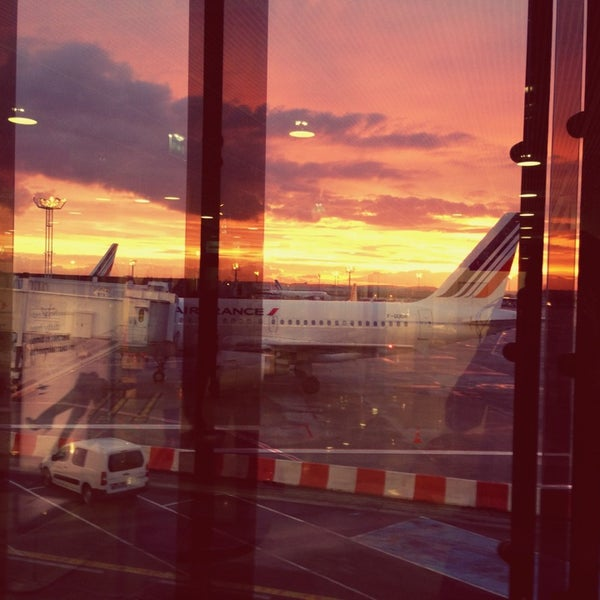 Photo taken at Paris-Orly Airport (ORY) by Anna G. on 2/11/2013