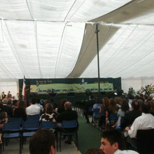 Foto tomada en Colegio San Juan Evangelista por Andrés S. el 12/7/2012