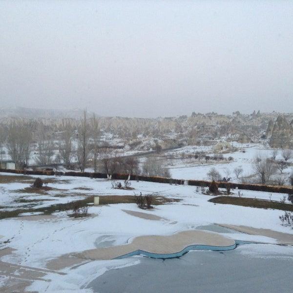 12/19/2013 tarihinde Murat S.ziyaretçi tarafından Tourist Hotels & Resorts Cappadocia'de çekilen fotoğraf