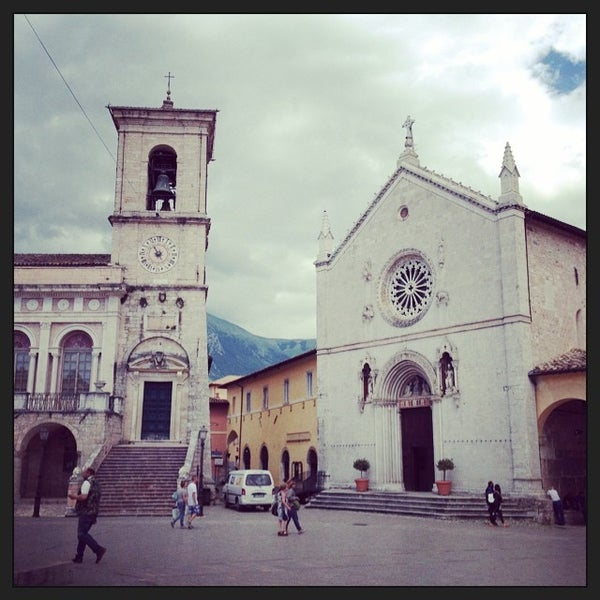 Photo taken at Norcia by hatschi b. on 7/9/2014