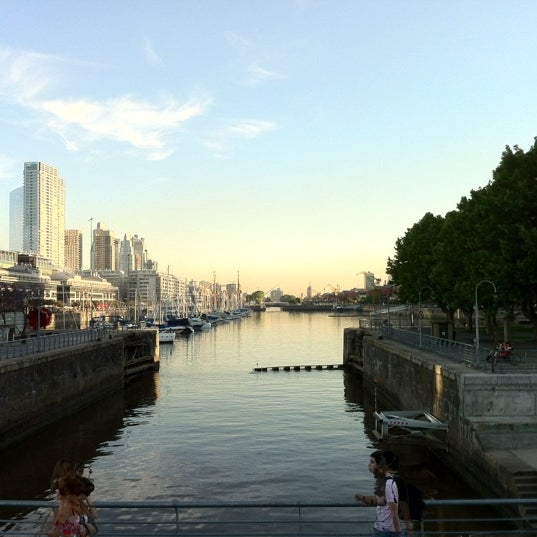 Photo taken at Puerto Madero by Alexis Q. on 11/8/2012