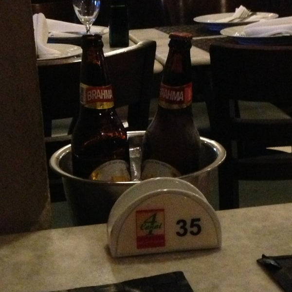 Photo taken at Canal 4 Restaurante e Pizzaria by Douglas Y. on 6/8/2013