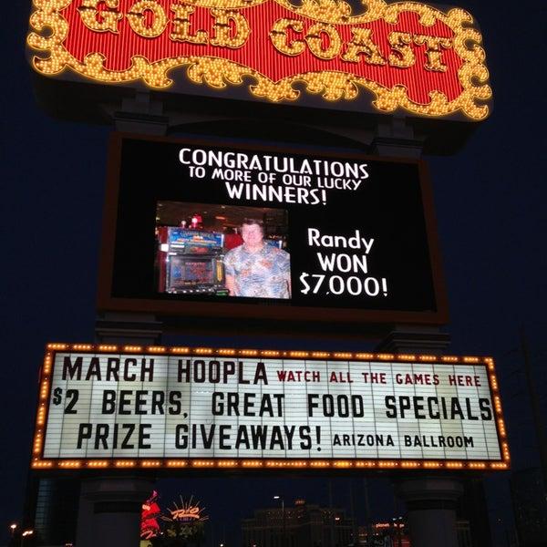 Photo taken at Gold Coast Hotel & Casino by Jenny on 3/25/2013