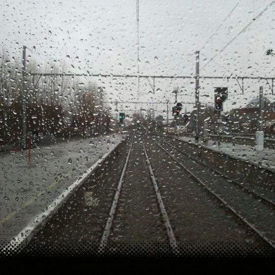Photo taken at Station Blankenberge by Chris J. on 12/20/2012