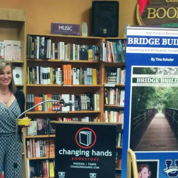 Photo taken at Changing Hands Bookstore by Nick B. on 12/2/2015