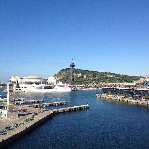 Photo taken at OneOcean Port Vell Barcelona by Regina S. on 5/23/2013
