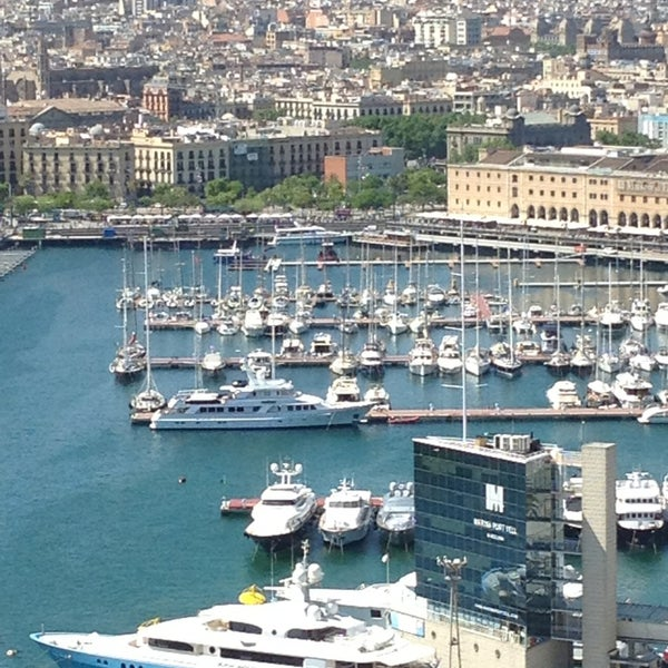 Photo taken at OneOcean Port Vell Barcelona by Regina S. on 6/13/2013