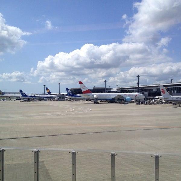 Photo taken at Narita International Airport (NRT) by yoichi o. on 7/2/2013