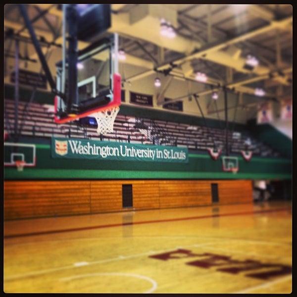 Photo taken at Washington University by Aaron M. on 2/9/2013