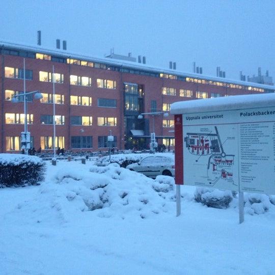 Снимок сделан в Ångströmlaboratoriet пользователем Işıl T. 12/4/2012