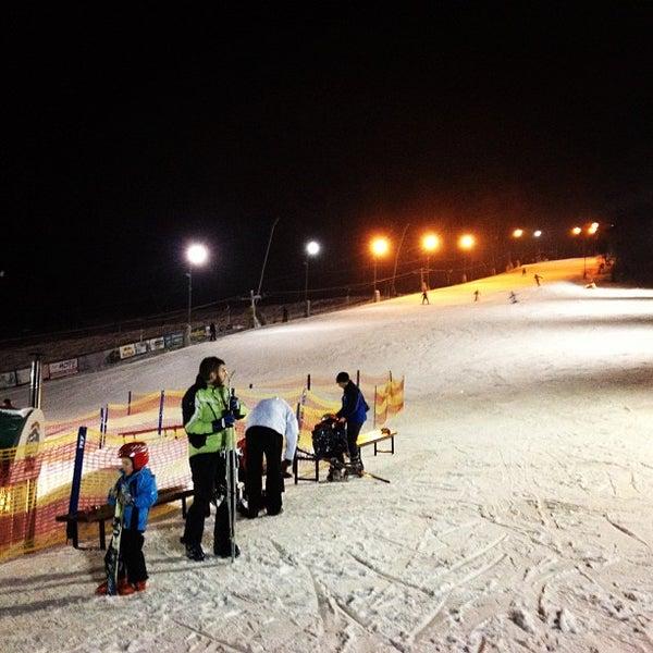 Photo taken at Zimní stadion Luďka Čajky by Alicia D. on 1/20/2013